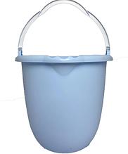 Ведро пластиковое круглое Комфорт В-10Б (10 л, Вестхим К)