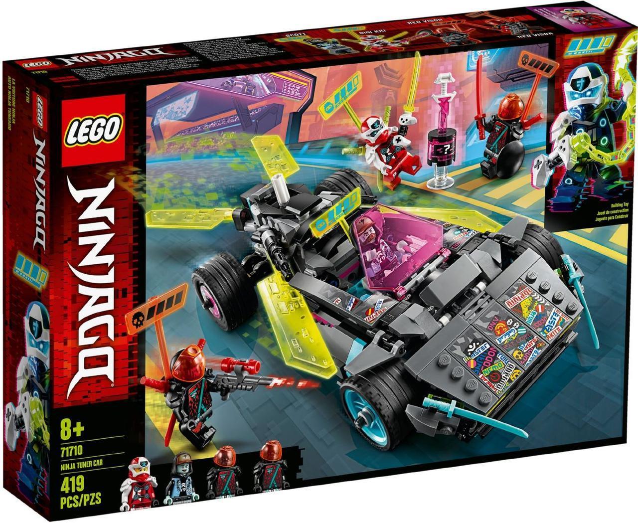 Лего ниндзяго Lego Ninjago Спеціальний автомобіль Ніндзя 71710