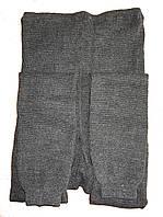 Гамаши женские вязаные (серые)