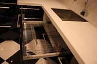 Каменная столешница для кухни из акрилового камня под заказ