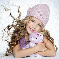 Головные уборы, шапки, шарфы для девочек