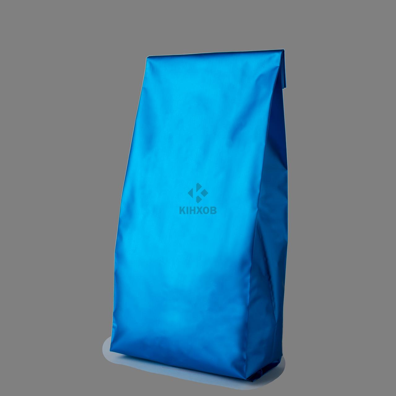 Пакет с центральным швом 80*250 ф (30+30) аквамарин