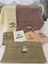 """Кухонные махровые полотенца """"Неделька"""""""