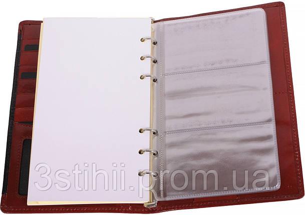 Блокнот-органайзер Vip Collection Prestige 84.R.PR Красный, фото 2
