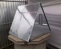 Домик для колодца с листовой стали