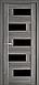 """Дверь межкомнатная остеклённая новый стиль Ностра """"Пиана G,BLK"""" 60,70,80,90 см венге new, фото 6"""