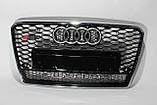Решетка радиатора стиль RS7 для Audi A7 12-15, фото 2