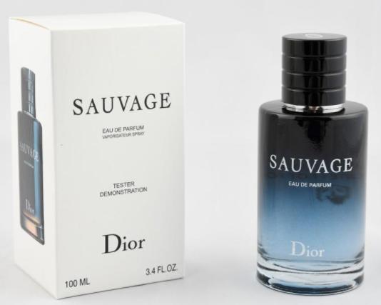 Тестер мужской Dior Sauvage EDP,100 мл