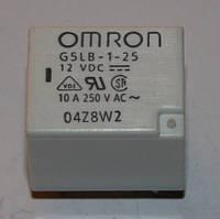Реле электромеханическое  G5LB-1-25;  12VDC