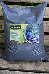 Грунт для голубики и хвойных растений, pH 3.5-4.5 пакете 40 л