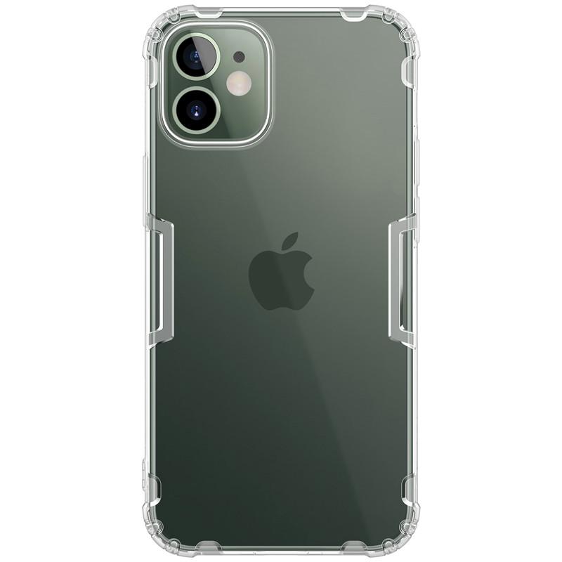 "Nillkin Apple iPhone mini 12 (5.4"") Nature TPU Case White Прозорий Силіконовий Чохол"