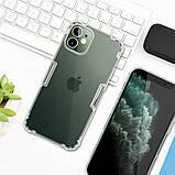 "Nillkin Apple iPhone mini 12 (5.4"") Nature TPU Case White Прозорий Силіконовий Чохол, фото 4"