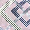 Комплект постельного белья Ромбы, двуспальный постельный комплект с ромбами, Koloco, фото 3