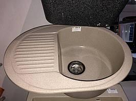 Мийка гранітна глянець Platinum 6247 BORA (сафарі)
