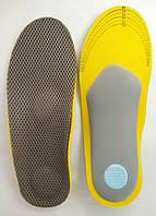 Стельки в обувь ортопедические женские Insoles Health размер 36-40