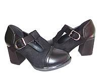 Женские туфли,ботильоны женские на устойчивом каблуке удобная практичная обувь