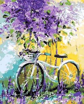 Картина по номерам 40×50 см. Mariposa Мой велосипед Художник Ольга Дарчук (Q 765)