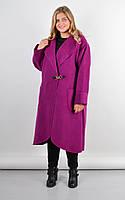 Осеннее пальто кардиган больших размеров Сарена, фото 1