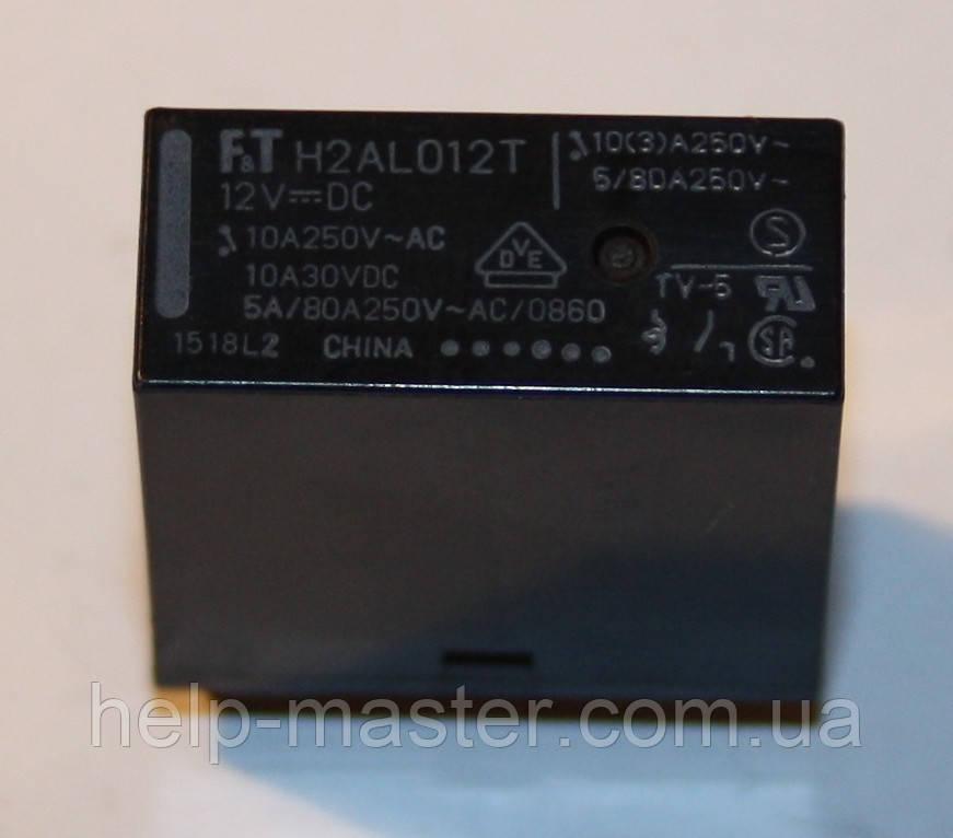 Реле электромеханическое  H2AL012T;  12VDC
