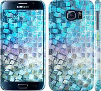 "Чехол на Samsung Galaxy S6 G920 Переливающаяся чешуя ""227c-80"""