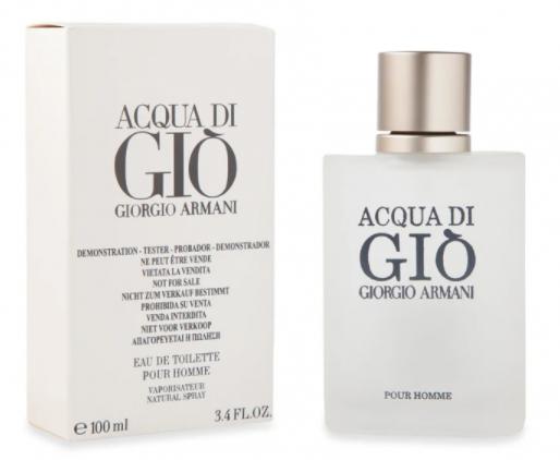 Тестер мужской Giorgio Armani Acqua Di Gio, 100 мл