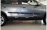 Молдинги на двері для Nissan Qashqai J10 2007-2013, фото 4