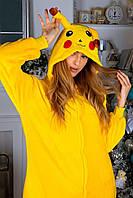 Кигуруми Пикачу пижама женская детская