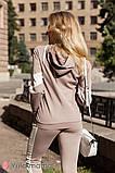 Стильный костюм худи для беременных и кормящих DENIZA ST-30.012, фото 3