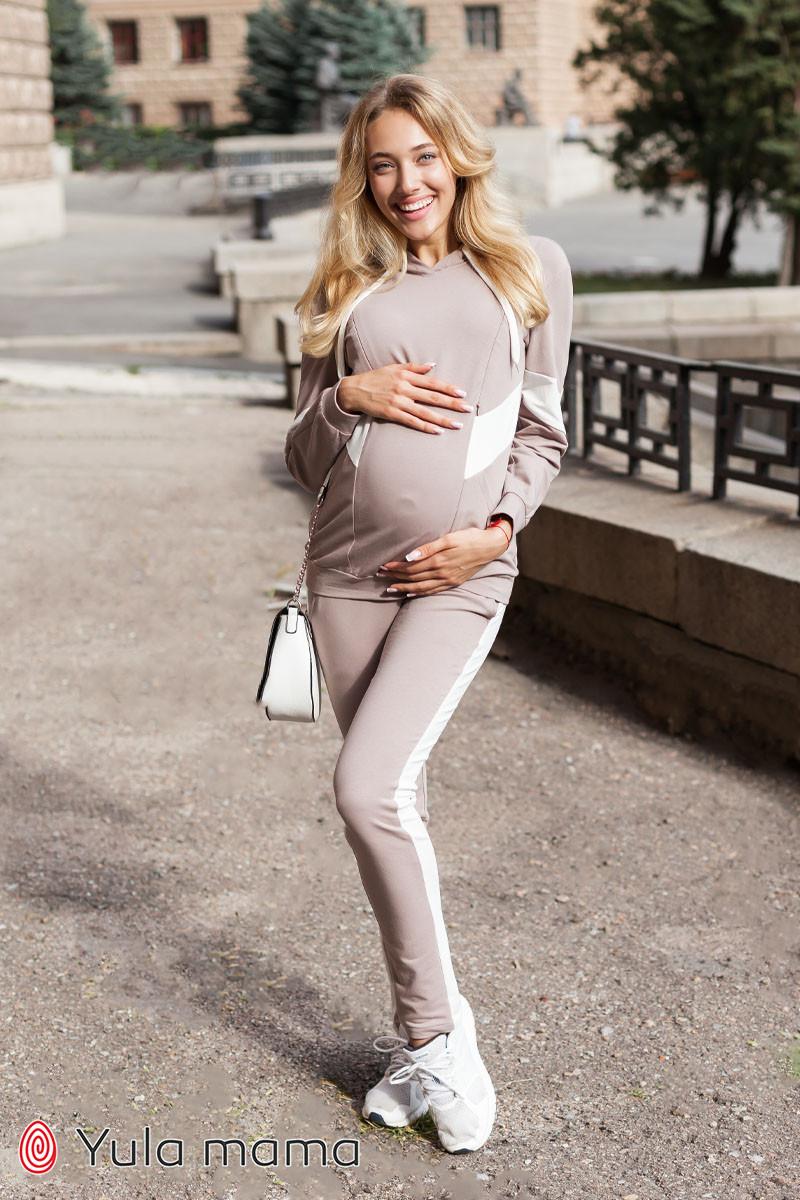 Стильный костюм худи для беременных и кормящих DENIZA ST-30.012