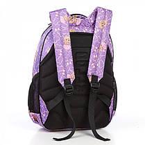 Рюкзак школьный в 2-4 класс ортопедический для девочки легкий Dolly 541 сиреневый, фото 3