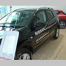 Молдинги на двері для Nissan Qashqai+2 J10 2008-2013