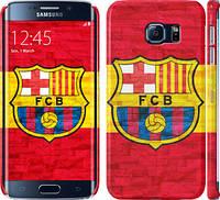 "Чехол на Samsung Galaxy S6 Edge G925F ФК Барселона 1 ""2301c-83"""