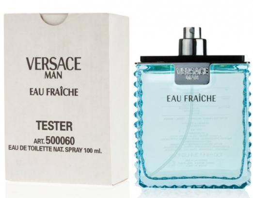 Тестер мужской Versace Man Eau Fraiche EDT,100 мл