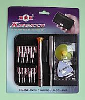 Набор бит K-tools 16 в 1 с пинцетом, плектором и присоской