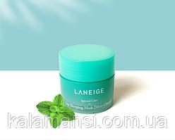 Ночная питательная маска для губ Laneige Lip Sleeping Mask 3 г, 10 г и 20 г 20 г, Choco Mint