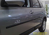 Молдинги на двері для Nissan Qashqai+2 J10 2008-2013, фото 2