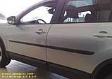 Молдинги на двері для Nissan Qashqai+2 J10 2008-2013, фото 5