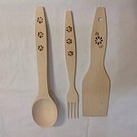 Комплект кухонный(лопатка,вилка,ложка)