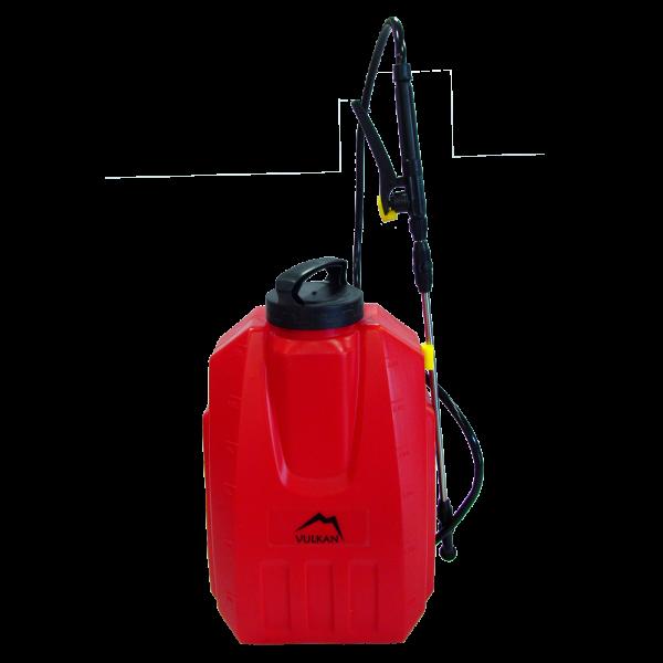 Аккумуляторный садовый опрыскиватель Vulkan ES-12S (12 л, 12 В)