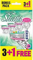 Жіночий станок для гоління DORCO SHAI 4 (4шт)