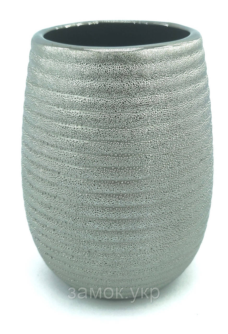Cтакан Trento Sabbia серебро
