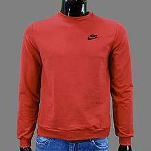 Реглан чоловічий FORMAT Nike1 (РЕПЛІКА) ЧЕРВОНИЙ 85% бавовна 15% еластан L(Р)