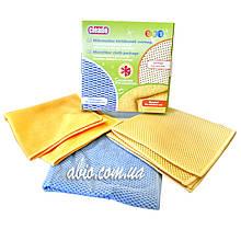 Cалфетки из микрофибры Cleado (набор 3 шт)