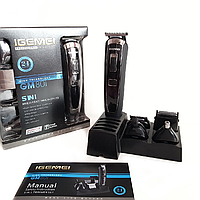 Машинка для стрижки волос Gemei Gm 801 5в1, фото 1