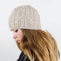 """Вязаная женская шапка """"Jemi"""", фото 1"""