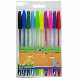 Набір ручок кулькових ZiBi 10 кольорів (ZB.2012)