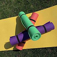 Коврик (каремат) для йоги, фитнеса, танцев 5 мм 180*60 см