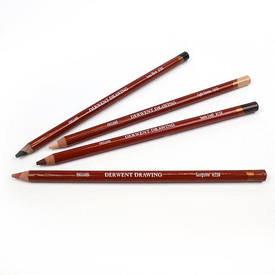 Олівець для малюнка Derwent 1610 Сієна світла Drawing 636638006543