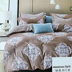 Комплект двуспальный постельного белья, винтажное постельное белье Koloco Двуспальний 180х220см