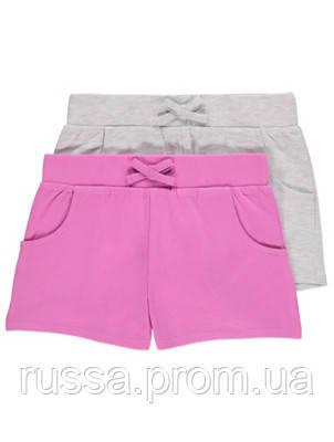 Однотонные летние шорты George для девочки (поштучно)